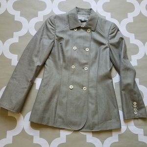 Carolina Herrera Double Breasted Blazer Jacket 4